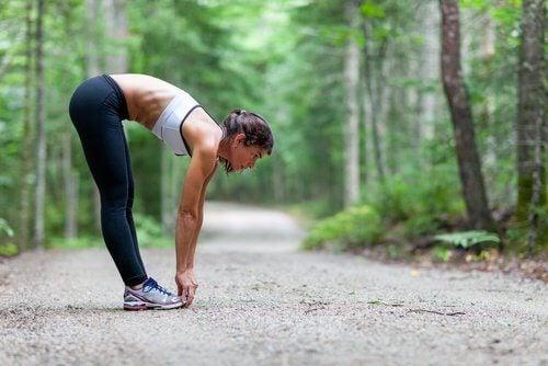 Skłony i ćwiczenia rozciągające