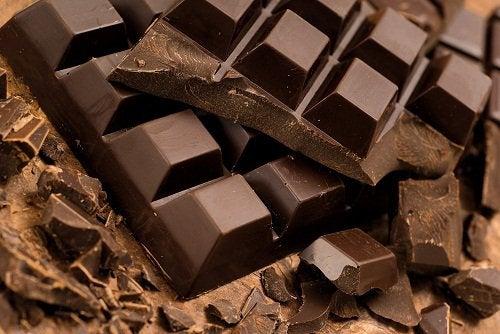Tabliczka gorzkiej czekolady