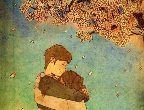 Przytulanie ukoi twoje emocje