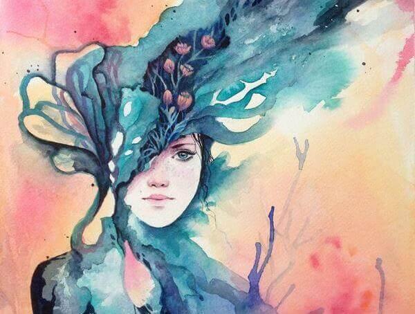 Kobieta-natura