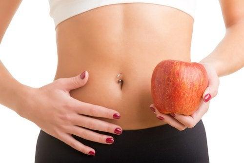 Jabłko i brzuch