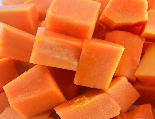Świeża papaja doskonale zwalcza zmarszczki