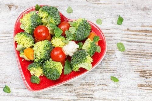 Warzywa na serce