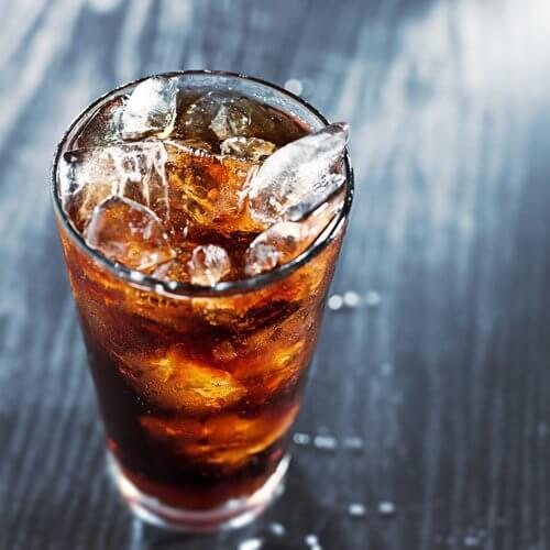 Coca-cola z lodem