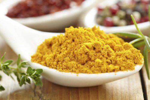 Curry w proszku na bielactwo