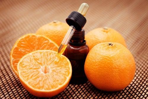 Ekstrakt z pomarańczy na rozszerzone pory