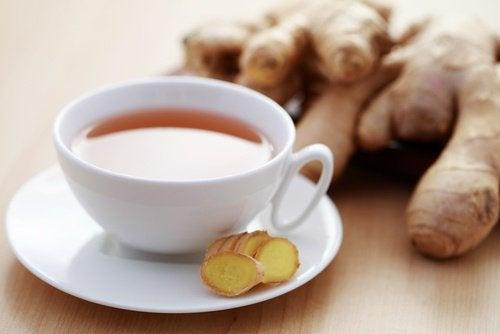 Herbata imbirowa na przemęczenie