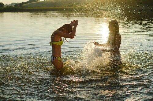 Kąpiel na świeżym powietrzu