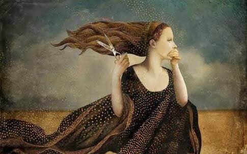 Kobieta włosy