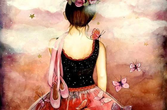 Młoda baletnica