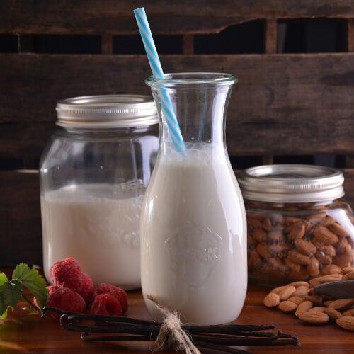 Mleko migdałowe własnej roboty