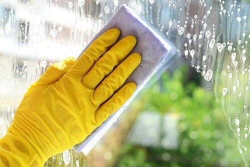 Mycie okna