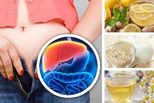 Odtruwanie wątroby – 5 napojów na wieczór