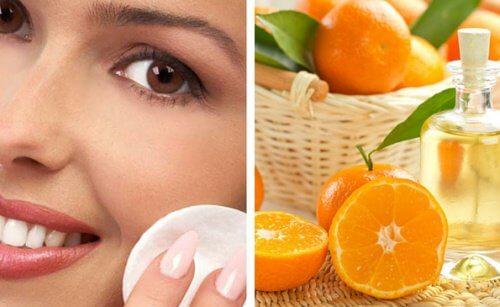 Tonik do twarzy z pomarańczy