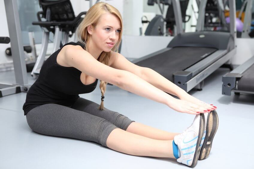 Rozciąganie mięśni