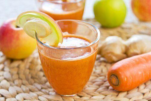 sok marchewkowy na chrapanie