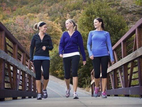 Trzy kobiety na spacerze