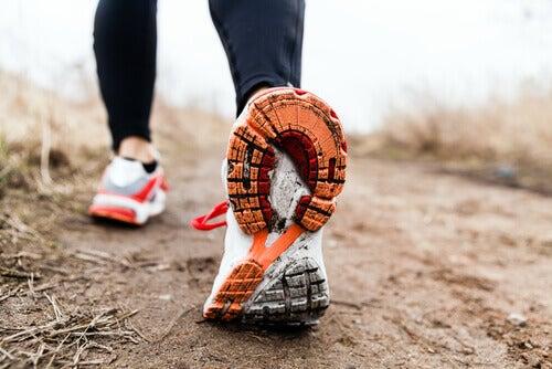 Sportowe obuwie