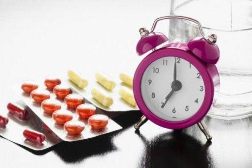 Branie leków o wyznaczonych porach