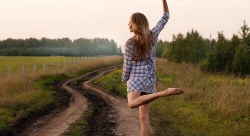 Taniec na łące