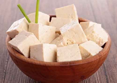 Tofu w misce