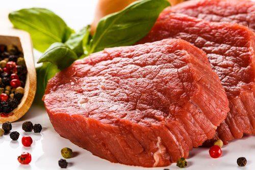 Czerwone, przetworzone mięso wołowe