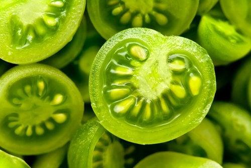 Zielone pomidory