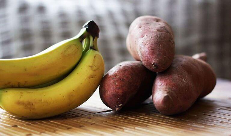 Banany i ziemniaki