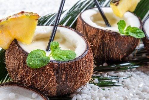 Koktajl z kokosa