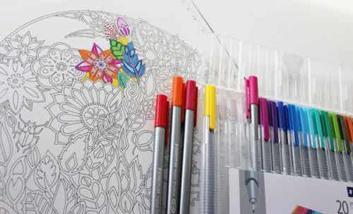 Kolorowanki - terapia dla dorosłych