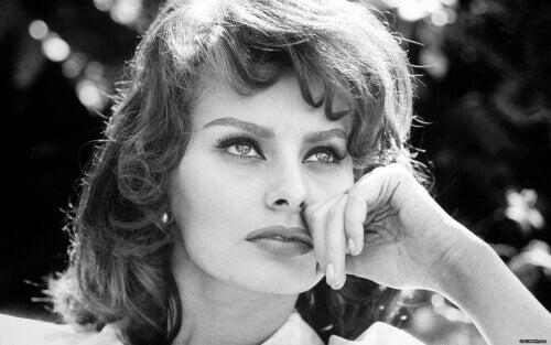 Młoda Sophia Loren