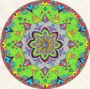 Mandala kolorowanka
