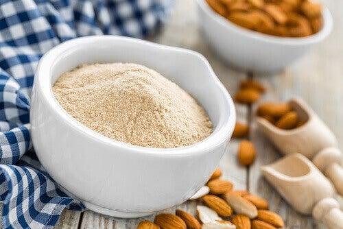 Migdały i mąka migdałowa
