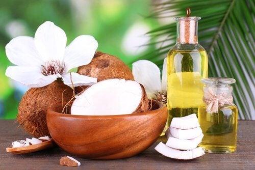 Naturalny olejek kokosowy