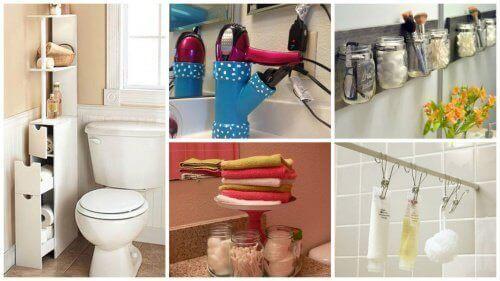 Oszczędność miejsca w łazience