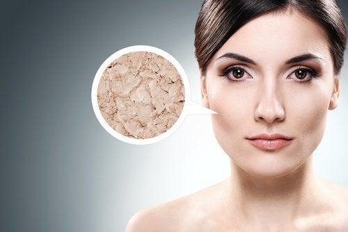 Suchość skóry twarzy