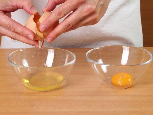 Żółtko i białko