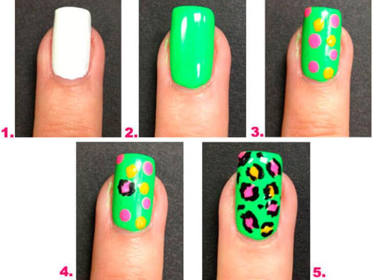 Atrakcyjne malowanie paznokci