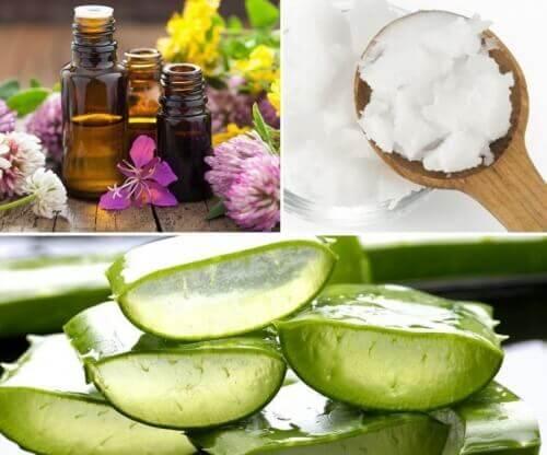 Balsam kokosowo-aloesowy na zmarszczki i rozstępy
