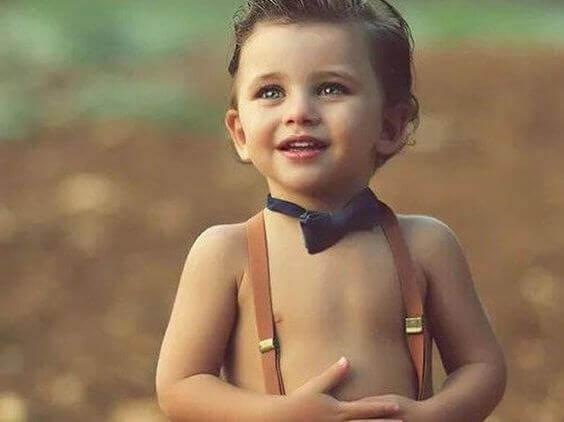 Chłopiec, zdjęcie syna