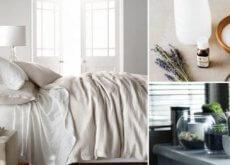 Czysta sypialnia