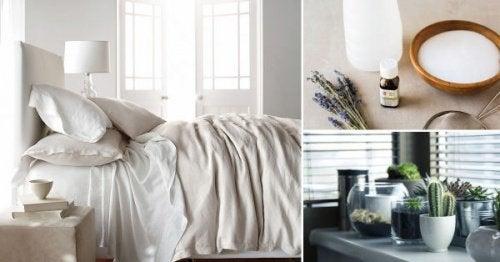 Czysta sypialnia w 8 prostych krokach