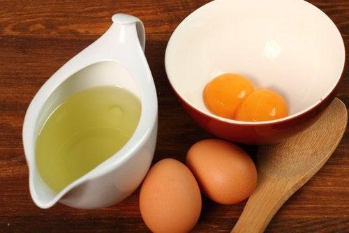 Jajka i ocet