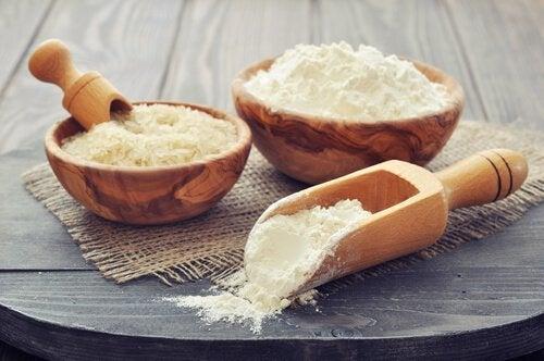 Mąka i ryż