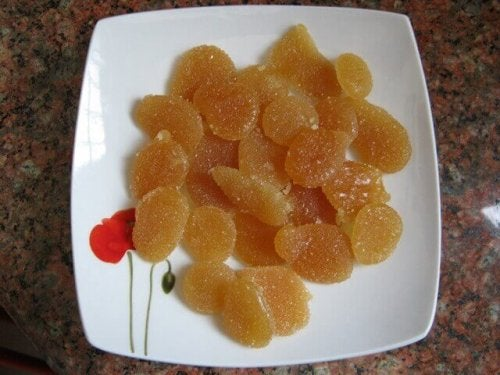 miodowo-cytrynowe cukierki na kaszel