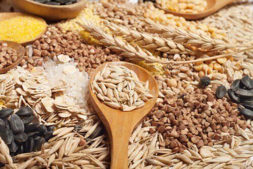 Nasiona razowe - pełne ziarna zbóż