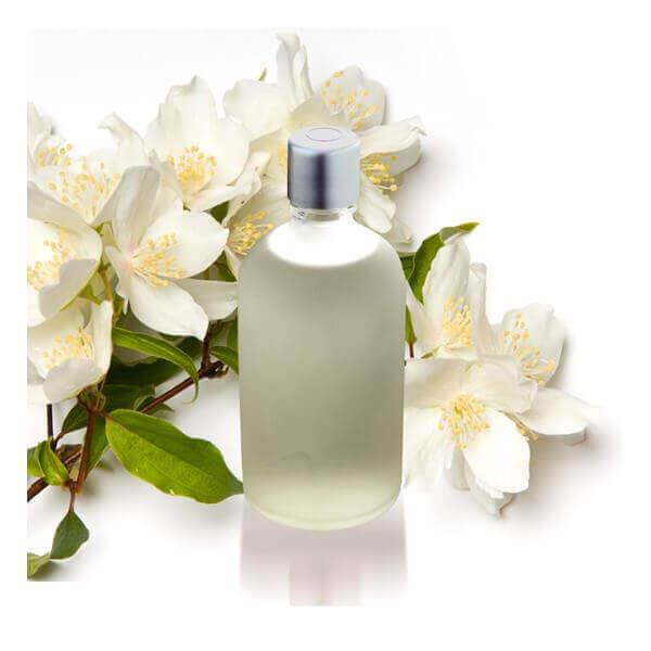 olej i kwiaty jaśminu na prostowanie włosów