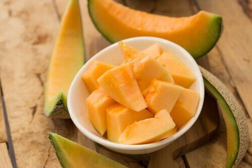 Pokrojony melon