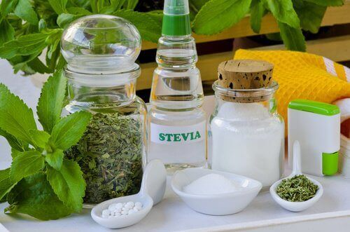 Produkty ze stewii