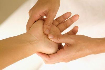 Punkty na dłoniach